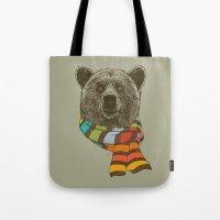 Winter Bear Tote Bag