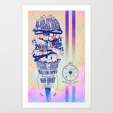 Knuckle Sandwich and Butter your Soul Art Print