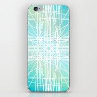 Linear Oceanblast iPhone & iPod Skin