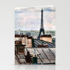 Montmartre Rooftop Stationery Cards