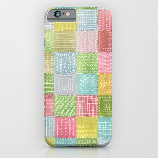 Watercolor Quilt iPhone & iPod Case