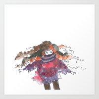 Autumn Winds Art Print