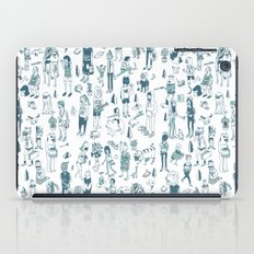 Crowd Pattern iPad Case