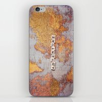 adventure map iPhone & iPod Skin