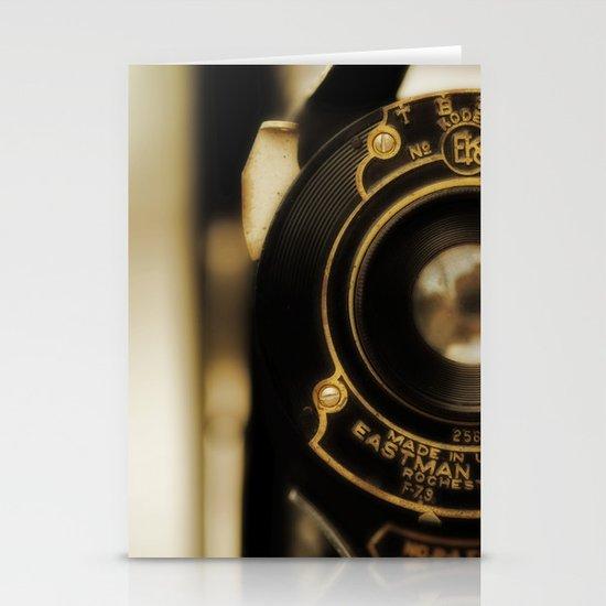 Vintage Folding Camera Stationery Card