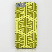 iPhone & iPod Case featuring HEXAGON NO. 3 by Martin Isaac