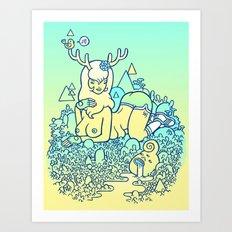 earthy delights Art Print