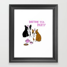 Boston Tea Party Framed Art Print