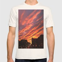 Dashing Dusk Mens Fitted Tee Natural SMALL