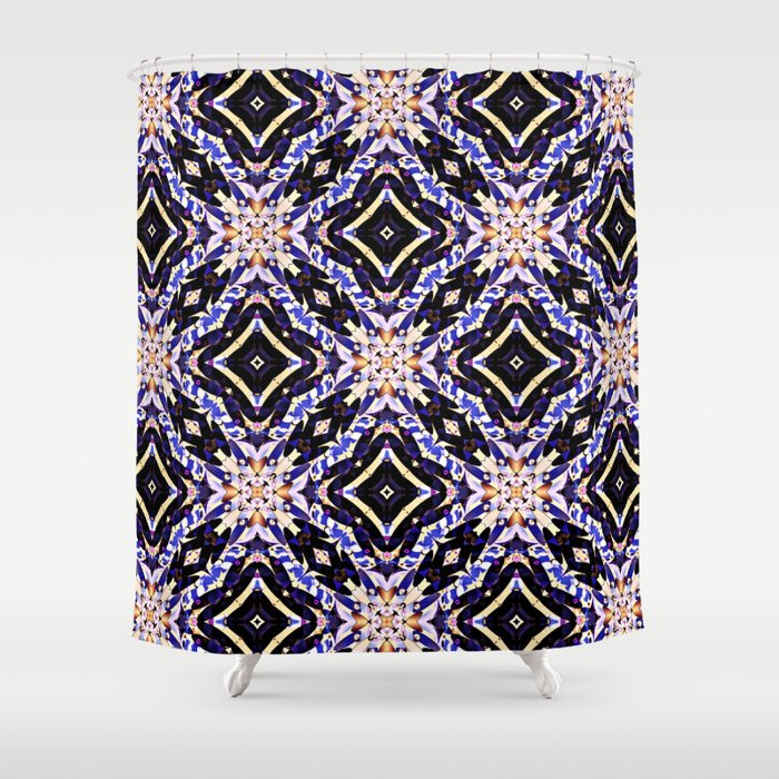 Royal Blue Shower Curtain By Truly Juel