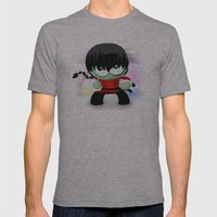 Ranma Saotome! Mens Fitted Tee Athletic Grey SMALL