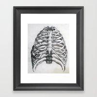 Encaged Framed Art Print