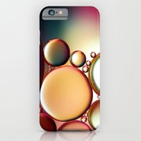 iPhone & iPod Case featuring Oil On Water Colourful by ALLY COXON