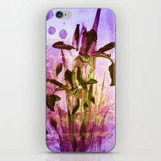 Iris and light iPhone & iPod Skin