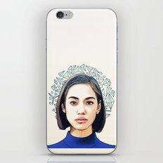 kiko mizuhara iPhone & iPod Skin