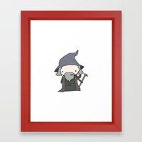 Gandalf Framed Art Print