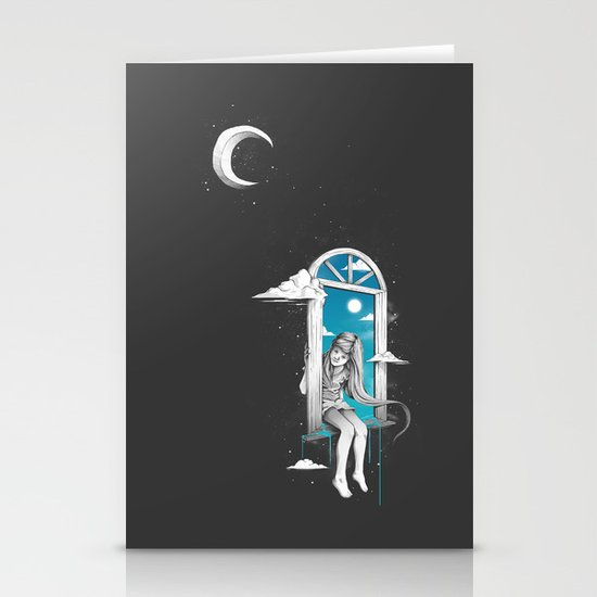 The Other Side Stationery Card
