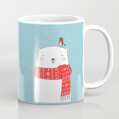 POLAR BEAR&LITTLE BIRD CHRISTMAS Mug