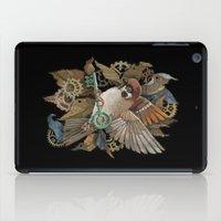 Clockwork Sparrow iPad Case