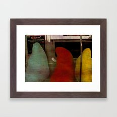 we don't know where we are going  Framed Art Print