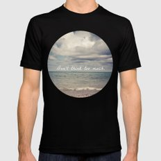 Flow With Life SMALL Mens Fitted Tee Black