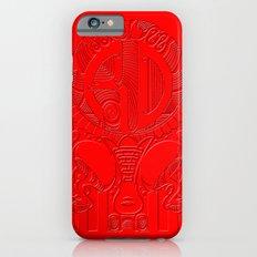 Roller derby polynesian Slim Case iPhone 6s