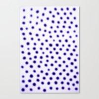 Dots Of Focus Canvas Print