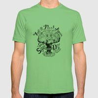 We'll Meet Again Some Sunny Day Mens Fitted Tee Grass SMALL