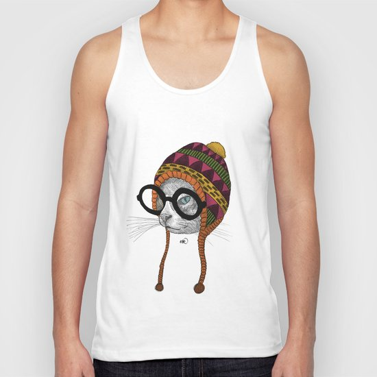 foolishness is in the eye of the beholder Unisex Tank Top