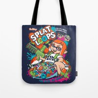 Splat Loops Tote Bag