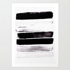 Stack V Art Print