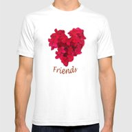 T-shirt featuring Loving Friends by CrismanArt
