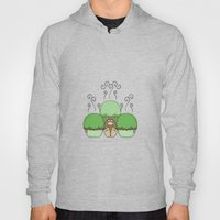 Cute Monster With Green … Hoody
