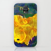 Galaxy S5 Cases featuring Ohio Map by Roger Wedegis