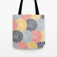 Flower Infusion Tote Bag