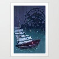 DREAM BOAT Art Print
