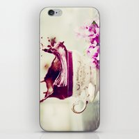 BLACK TEA iPhone & iPod Skin