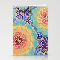 yellow Stationery Cards featuring Obsession by micklyn
