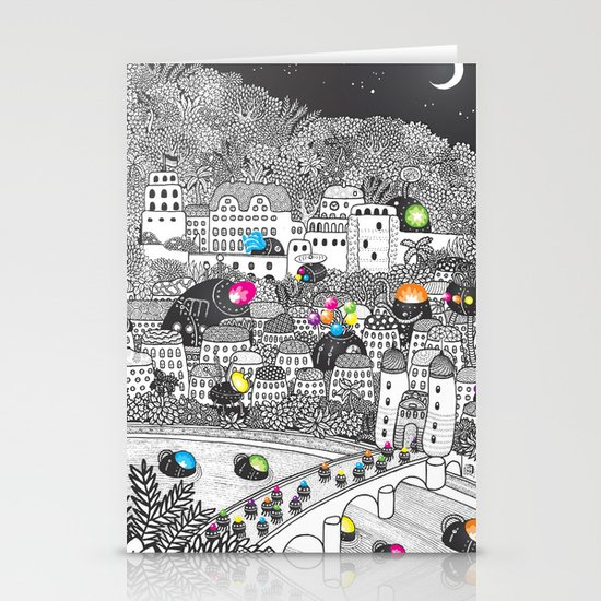 Locals Only - Heidelberg, Germany Stationery Card