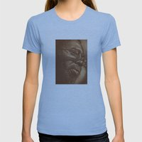 Incredible Curtis! Womens Fitted Tee Athletic Blue SMALL