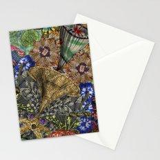 Psychedelic Botanical 4 Stationery Cards