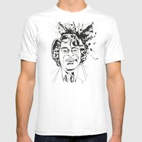 James Brown Mens Fitted Tee White SMALL