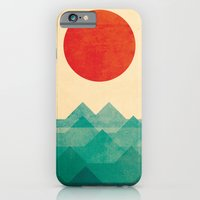 world map iPhone & iPod Cases featuring The ocean, the sea, the wave by Picomodi