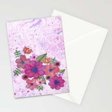 My pink garden Stationery Cards