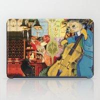 Distarcted Busker iPad Case
