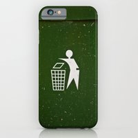 Trash - Put Here Please! iPhone 6 Slim Case