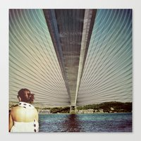 Connecting Two Continents  Canvas Print