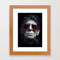 Lou Reed Framed Art Print