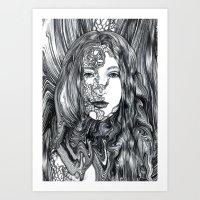 NINA Art Print