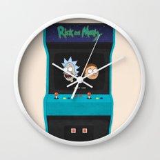 Rick and Morty Wall Clock